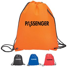 Customized Sovrano Econo Drawstring Sport Bag