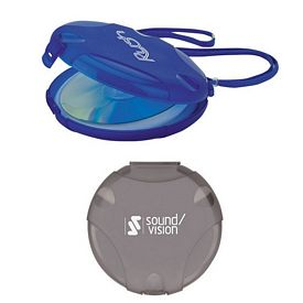 Promotional Valu-Mark Marketing 12-CD Case with Strap - CLOSEOUT ITEM