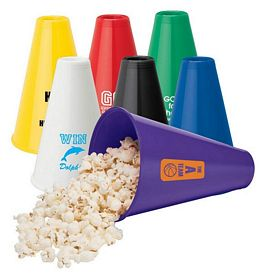 Customized Valumark Vg2102 Megaphone - Popcorn Holder