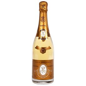 Promotional Cristal Etched Champagne Bottle