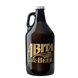 Promotional 32 oz. Beer Growler Deep Etched