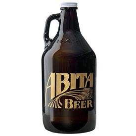 Promotional 64 oz. Beer Growler Deep Etched