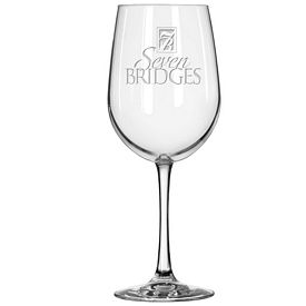 Promotional Libbey 18.5 oz. Red Wine Glass Etched