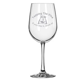 Promotional Libbey 12.5 oz. Wine Taster Glass Etched