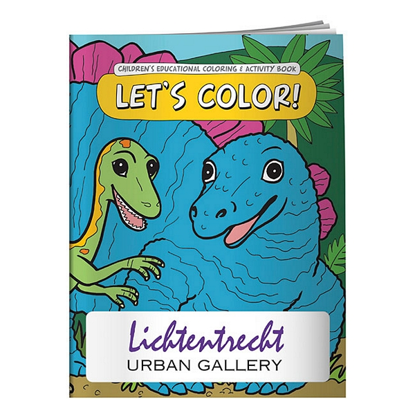 Promotional Let\'s Color! Coloring Book | Customized Let\'s Color ...