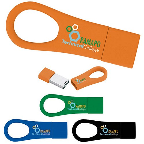 Promotional 4 GB Ring 2.0 USB 2.0 Flash Drive