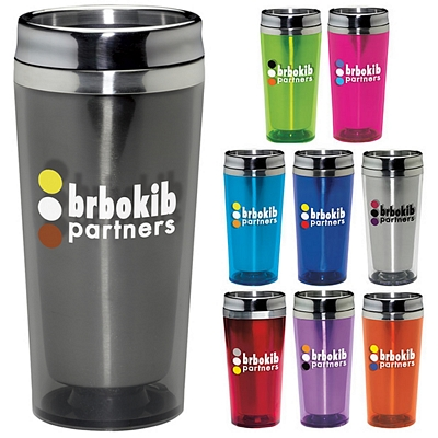 Promotional 16 oz. Colored Classic Acrylic Tumbler