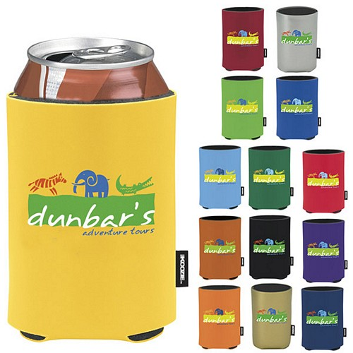 Promotional Koozie Deluxe Collapsible Can Kooler