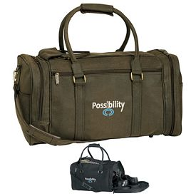 Promotional Kodiak Distressed Leatherette Duffel