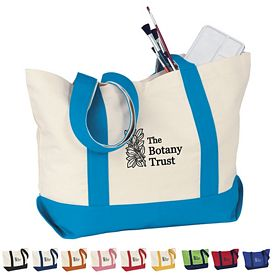 Promotional Medium Snap Cotton Duck Tote Bag
