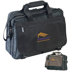 Promotional Kodiak Distressed Eclipse Briefcase
