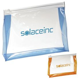 Promotional Transparent PolyVinyl Toiletry Bag