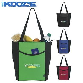 Promotional Koozie Linear Tote Bag