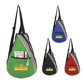 Promotional Teardrop NonWoven Slingpack