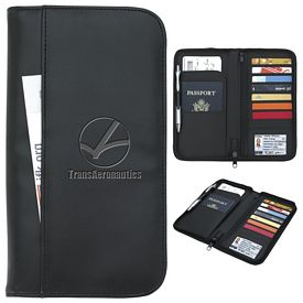 Promotional Travel Zippered Wallet