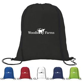 Promotional Non-Woven Traditional Drawstring Backpack