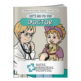 Promotional Coloring Book: Lets Go to the Doctor