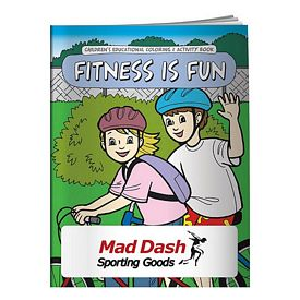 Promotional Coloring Book: Fitness is Fun