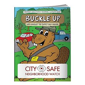 Promotional Coloring Book: Buckle Up
