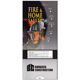 Promotional Medical Pocket Slider: Fire & Home Safety