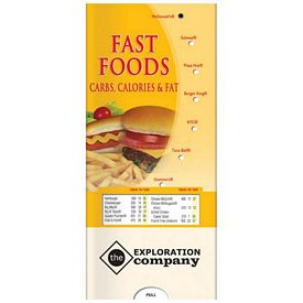 Promotional Medical Pocket Slider: Fast Foods