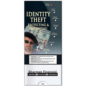 Promotional Medical Pocket Slider: Identity Theft