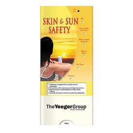 Promotional Medical Pocket Slider: Skin and Sun Safety