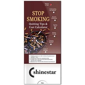 Promotional Medical Pocket Slider: Stop Smoking