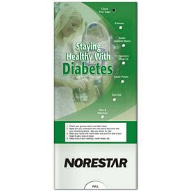 Promotional Medical Pocket Slider: Diabetes