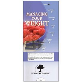 Promotional Medical Pocket Slider: Managing Your Weight