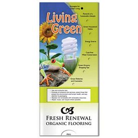 Promotional Medical Pocket Slider: Living Green