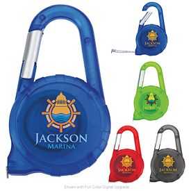 Promotional Tape Measure Carabiner
