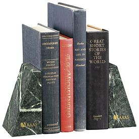 Promotional Jaffa Verde Marble Bookends
