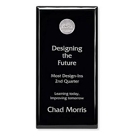 Promotional Jaffa 6x12 Black Plaque