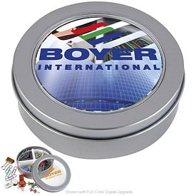 Promotional Stationery Set in Metal Box