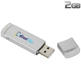 Promotional 2 GB Traditional USB 2.0 Flash Drive