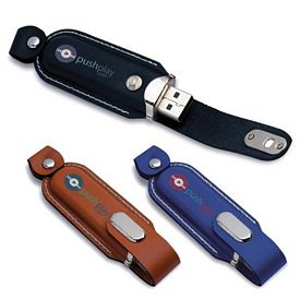 Promotional 16 GB Executive Leather USB