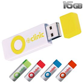 Promotional 16 GB Color Pop USB 2.0 Flash Drive