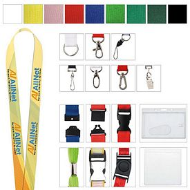 Promotional 1 Polyester 4 Color Lanyard