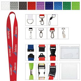 Promotional 1 Polyester Woven Lanyard
