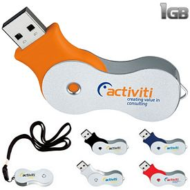 Promotional 1 GB Infinity USB 2.0 Flash Drive