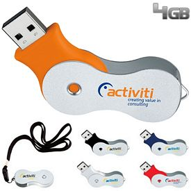 Promotional 4 GB Infinity USB 2.0 Flash Drive