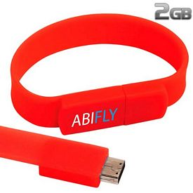 Promotional 2 GB The Band USB 2.0 Flash Drive