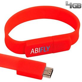Promotional 4 GB The Band USB 2.0 Flash Drive