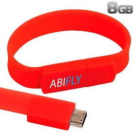 Promotional 8 GB The Band USB 2.0 Flash Drive
