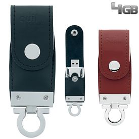 Promotional 4 GB Buckle USB 2.0 Flash Drive