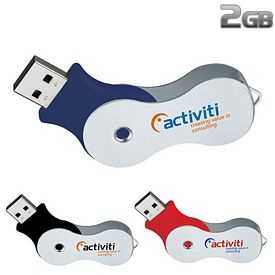 Promotional 2 GB Infinity Plus USB 2.0 Flash Drive
