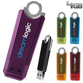 Promotional 4 GB Ring USB 2.0 Flash Drive