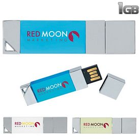 Promotional 1 GB Illuminated USB 2.0 Flash Drive