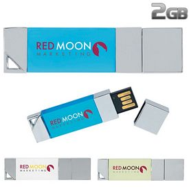 Promotional 2 GB Illuminated USB 2.0 Flash Drive